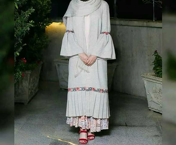 مدل مانتو دامنی 2019