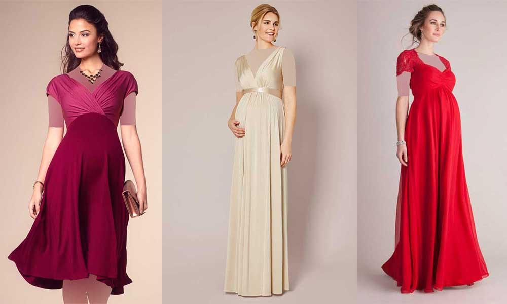مدل لباس مجلسی بارداری 2019
