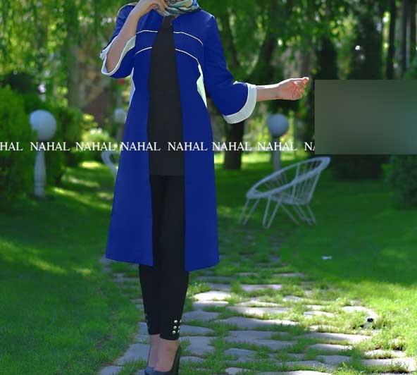 مدل مانتو جلو باز دخترانه 98 جنس کرپ مازراتی