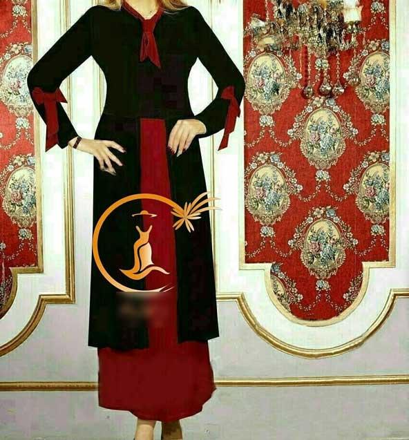 مانتو دامنی مدل کراواتی دخترانه 2019