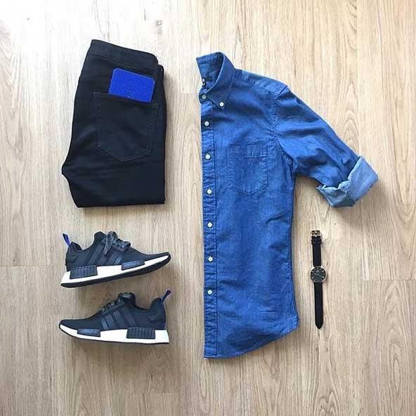 ست لباس مردانه لی بهاری 2019