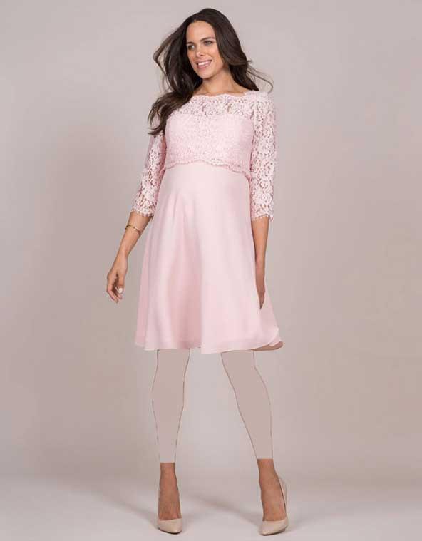 مدل لباس بالاتنه گیپور مجلسی بارداری سال 98