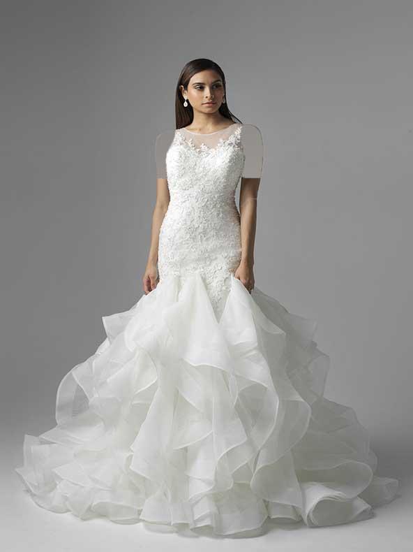 ۴۲ لباس عروس مدل ماهی جدید ۲۰۲۱ فوق العاده جذاب و خوش دوخت