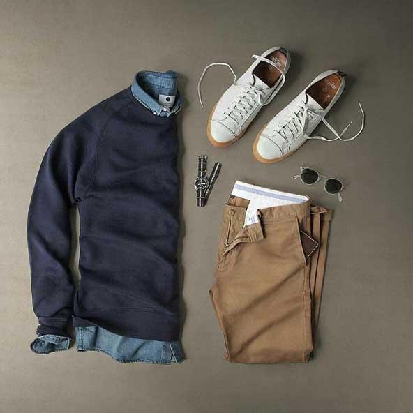 ست لباس مردانه خوش تیپ 98
