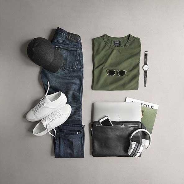 ست لباس مردانه با تیشرت 98