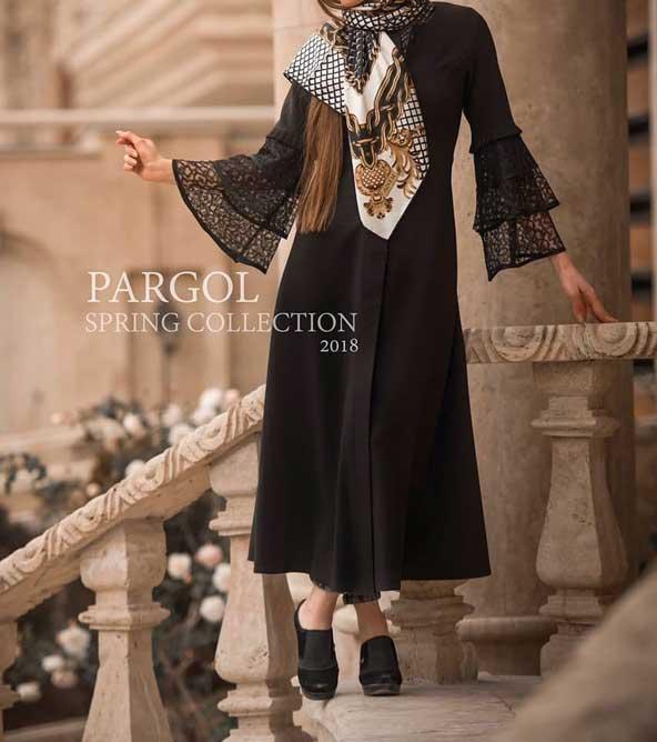 مدل مانتو آستین گیپور عید 98 جدید