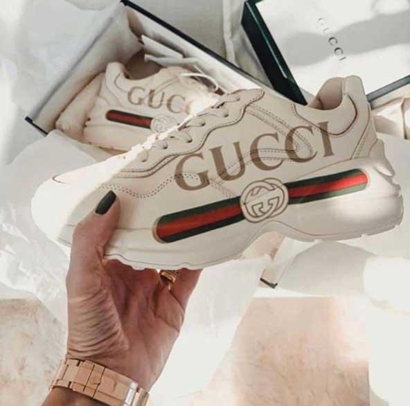 کتونی اسپرت دخترانه سال 2019 برند گوچی ( Gucci )