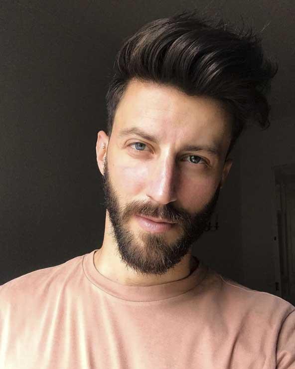 طرح شیک و باکلاس موی مردانه