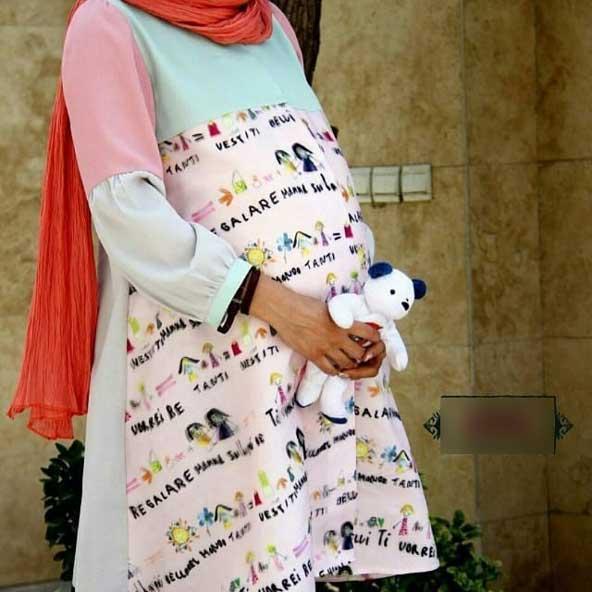 مانتو فانتزی مخصوص دوران بارداری برای مادران خوش ذوق