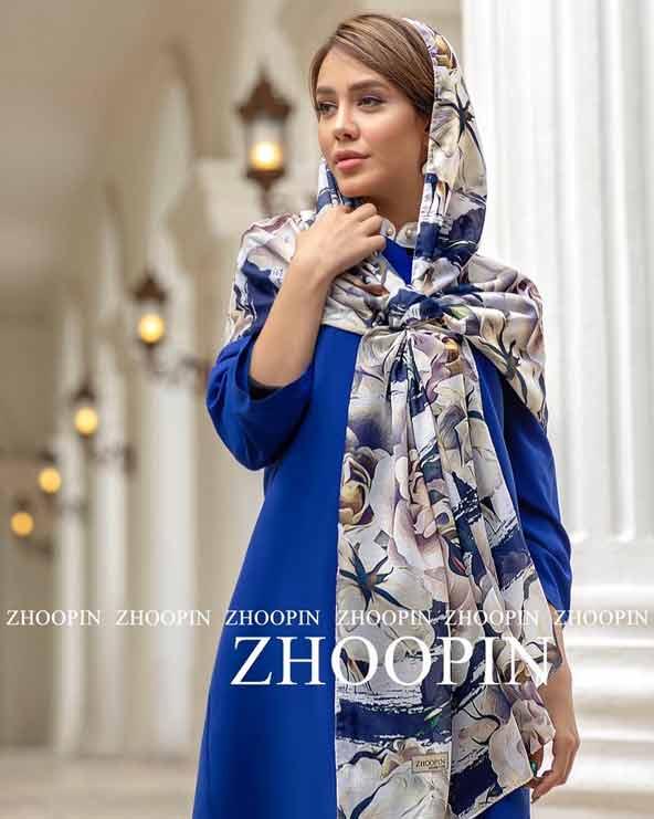 0f3135e2bc445d02828c65c49e10856b donoghte.com  - ۴۲ مدل شال و روسری جدید دخترانه و زنانه مجلسی و اسپرت نخی ۱۴۰۰
