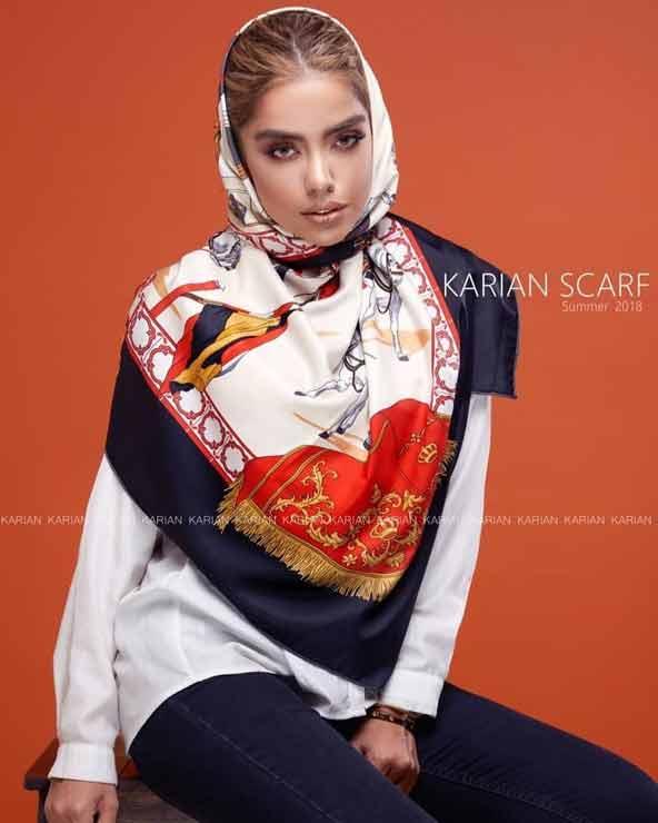 2c53362ae5d266dd9c0c35e938f04211 donoghte.com  - ۴۲ مدل شال و روسری جدید دخترانه و زنانه مجلسی و اسپرت نخی ۱۴۰۰