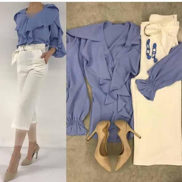 ۴۲ مدل لباس تابستانی نخی دخترانه و زنانه ۲۰۲۱-۱۴۰۰ جدید و خنک