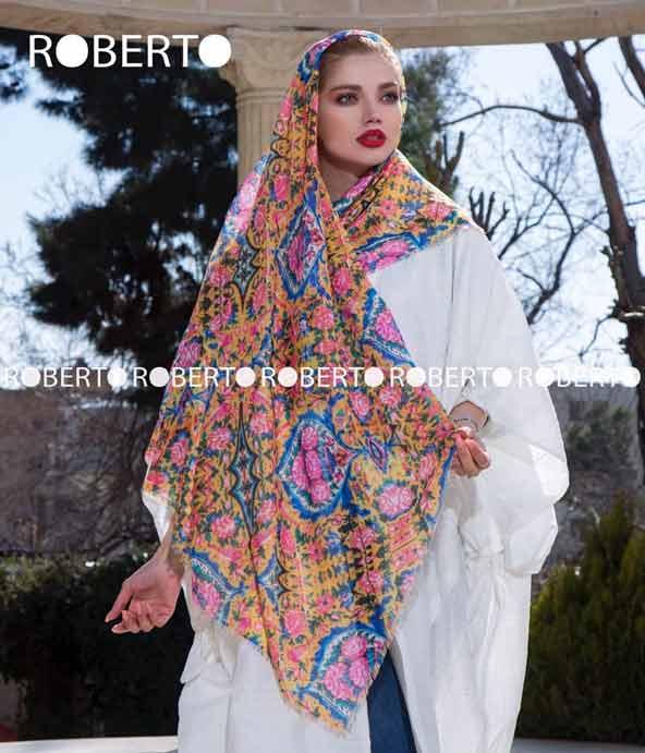 مدل روسری نخی بزرگ 98 بسیار شیک