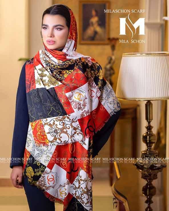 725dc7ec6f38e91b9ea81b57cc0844de donoghte.com  - ۴۲ مدل شال و روسری جدید دخترانه و زنانه مجلسی و اسپرت نخی ۱۴۰۰