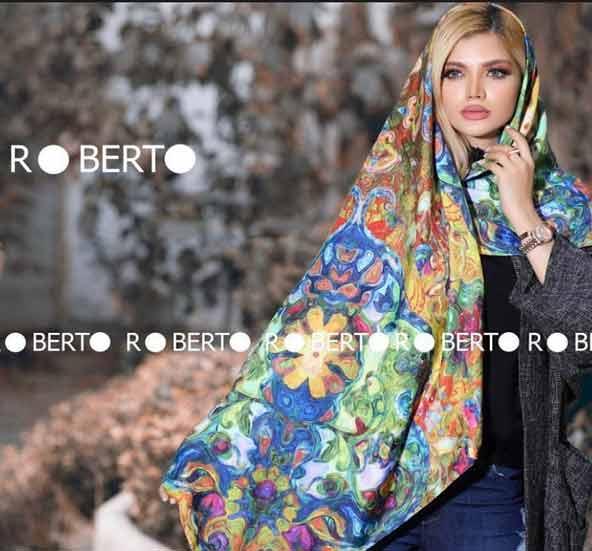 89f9d7e79a99e261f8daa2fd54198460 donoghte.com  - ۴۲ مدل شال و روسری جدید دخترانه و زنانه مجلسی و اسپرت نخی ۱۴۰۰