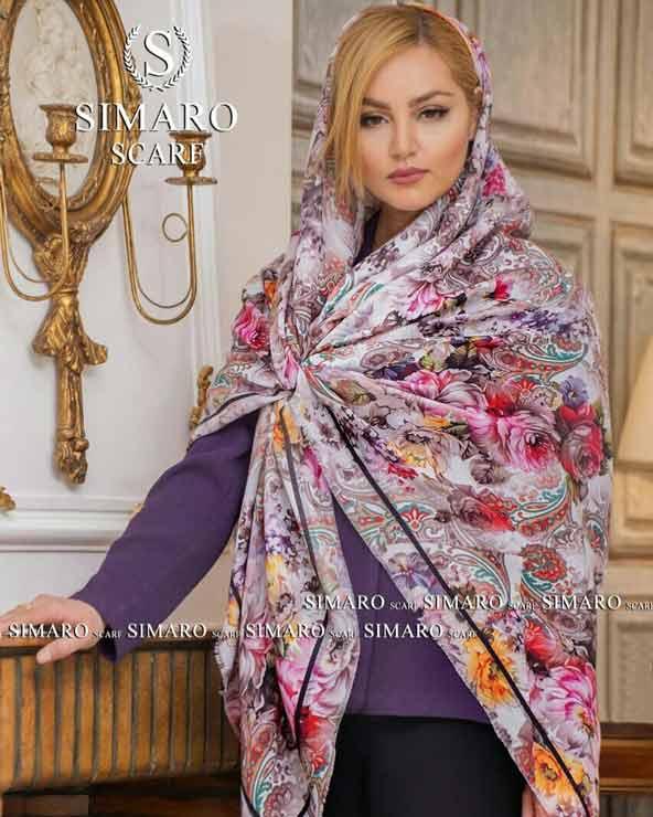 929e8faf62660441a90e8a0efcb2bf6d donoghte.com  - ۴۲ مدل شال و روسری جدید دخترانه و زنانه مجلسی و اسپرت نخی ۱۴۰۰