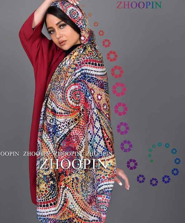 9da601b77a089198eac402b990c3f4d3 donoghte.com  - ۴۲ مدل شال و روسری جدید دخترانه و زنانه مجلسی و اسپرت نخی ۱۴۰۰