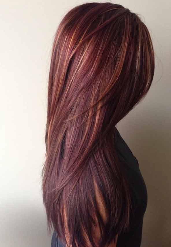۵۲ مدل رنگ مو سال ۹۸