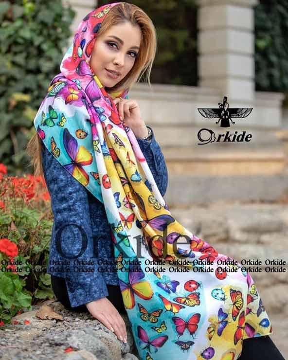 eabf8c783eb963410506f4a250499501 donoghte.com  - ۴۲ مدل شال و روسری جدید دخترانه و زنانه مجلسی و اسپرت نخی ۱۴۰۰