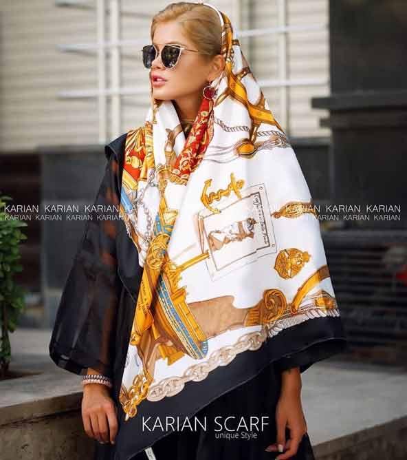 ec639eedee731ee67d511e028f0f1e7c donoghte.com  - ۴۲ مدل شال و روسری جدید دخترانه و زنانه مجلسی و اسپرت نخی ۱۴۰۰