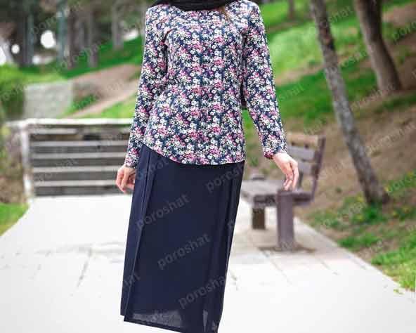 مدل شیک شومیز دامن پوشیده جدید