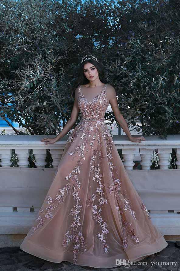 مدل لباس کارشده گلدار مجلسی فوق العاده زیبا