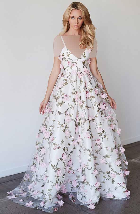 لباسهای گلدار شیک و با کلاس برای مهمانی و جشن