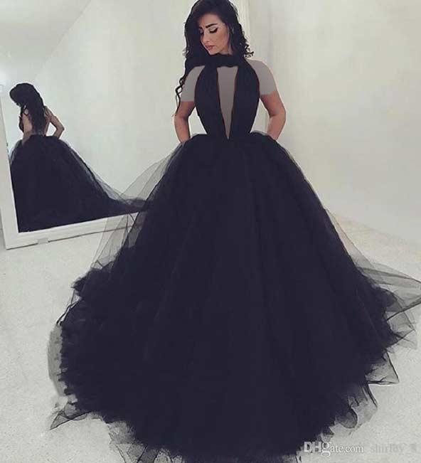 ۲۱ مدل لباس مجلسی مشکی ۲۰۱۹ خاص و جذاب برای خانمهای با کلاس
