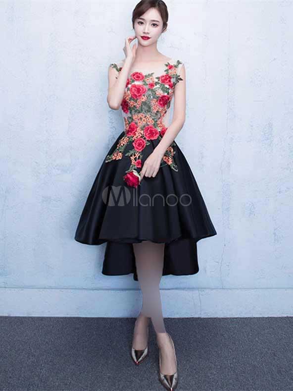 لباس مجلسی کوتاه گلدار فوق العاده شیک ۲۰۲۱