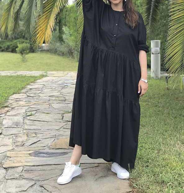 مدل جدید مانتو پاییزی بارداری ۹۸