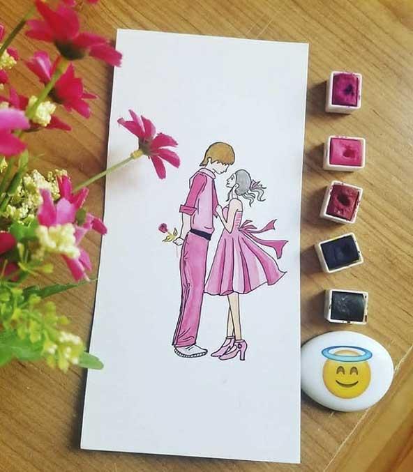 ۳۰ عکس پروفایل عاشقانه لاکچری نوشته دار و بدون متن بسیار جذاب