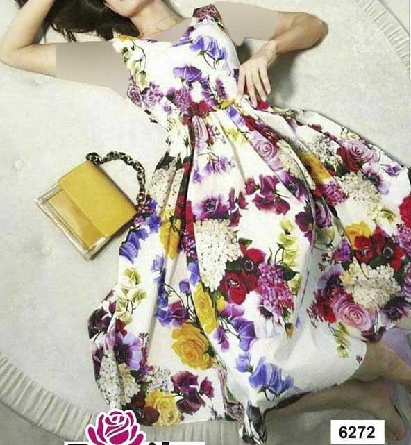 لباس مجلسی گلدار از نیو کالکشن جدید ۲۰۲۰