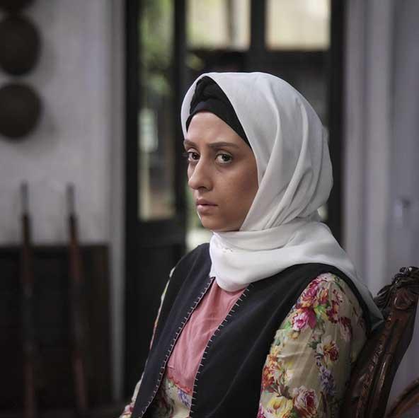 عکسی از الهام طهموری بازیگر سریال وارش