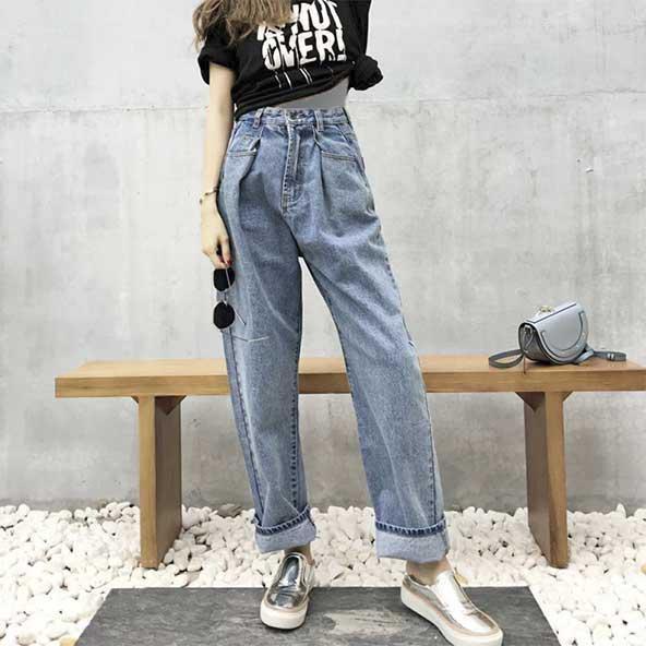 شلوارهای جین زنانه مد شده در سال 2020