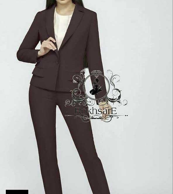 انواع مدلهای ترکیبی کت و شلوار زنانه سال ۹۹