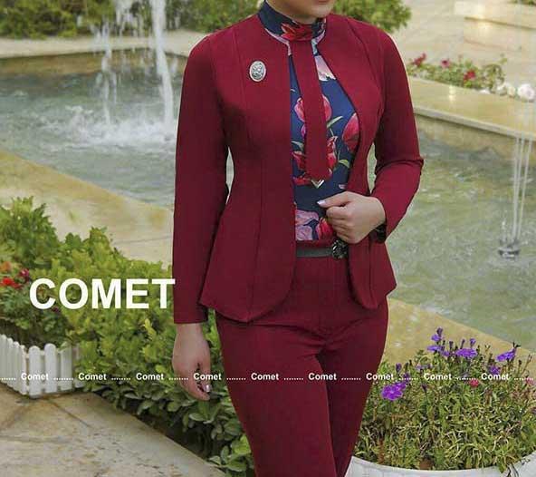 کت و شلوار دخترانه مدل کراواتی ۲۰۲۰ با طراحی متفاوت