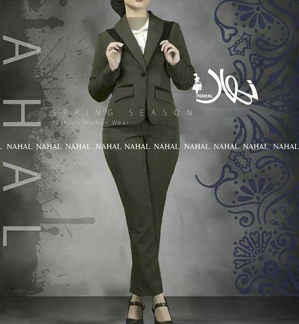 کت شلوار ایرانی با طراحی زیبا برای خانم های شیک پوش