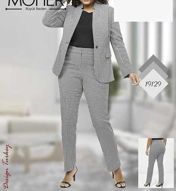 مدل کت شلوار سایز بزرگ جدید برای خانم های چاق
