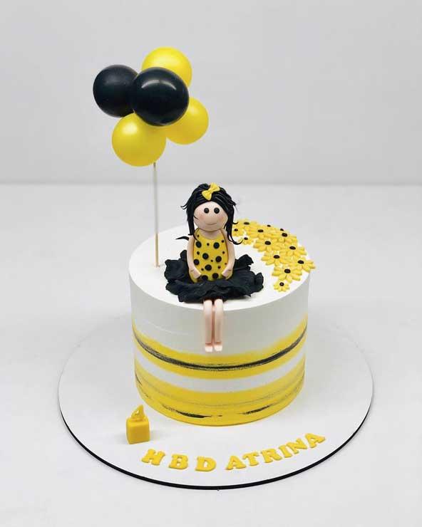 ۴۰ عکس کیک تولد جدید لاکچری و ساده با شیکترین مدل های تزیین