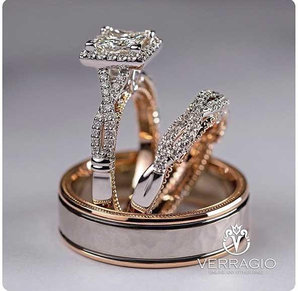 1cbaebf5dbf17adad8d3d02c1e05b165 donoghte.com  - ۳۰ عکس مدل حلقه ازدواج و نامزدی جدید ۲۰۲۱ ست، مردانه و زنانه