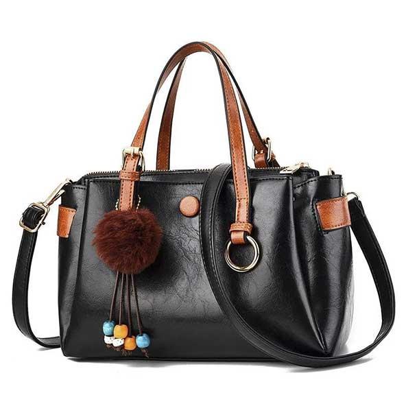 کیف چرم بسیار جذاب سایز بزرگ مجلسی برای خانمهای لاکچری