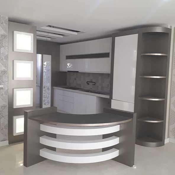 طرح های جدید کابینت برای آشپزخانه های کوچک