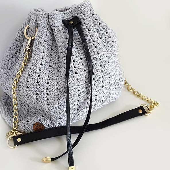 جدیدترین کیف مکرومه بسیار زیبا