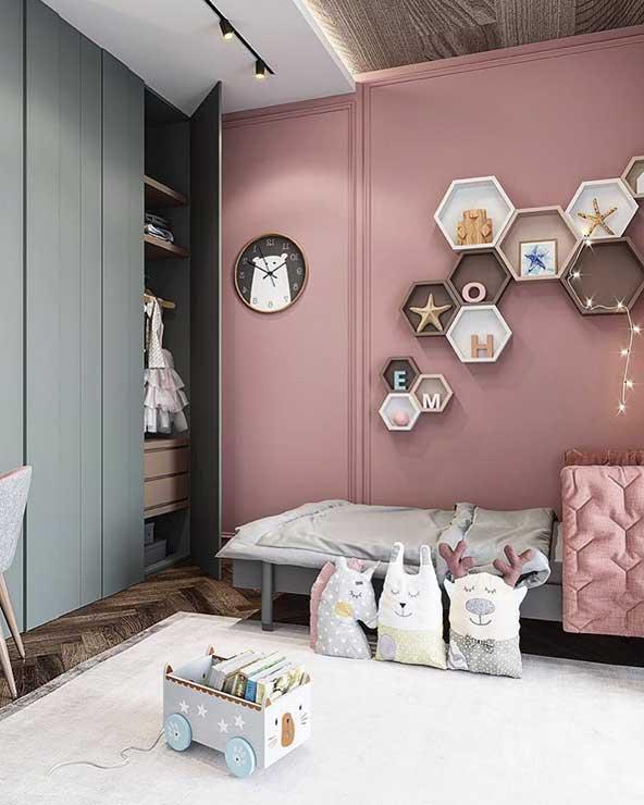 مدل دکوراسیون اتاق بسیار زیبا با چیدمان کودکانه