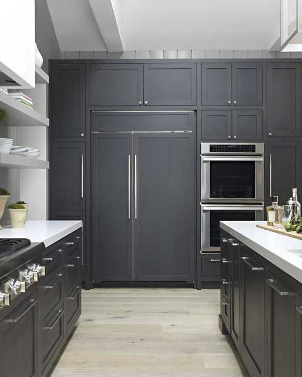 مدل کابینت آشپزخانه با رنگ و طرح خاص و جدید