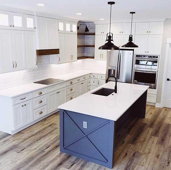 ۲۲ مدل آشپزخانه جدید و شیک با دکوراسیون مدرن و طراحی لاکچری