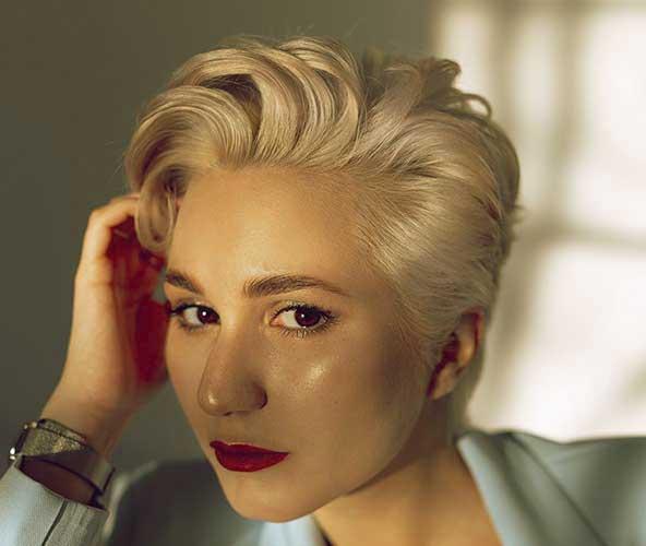 عکس کپ مو کوتاه بسیار خوش حالت زنانه