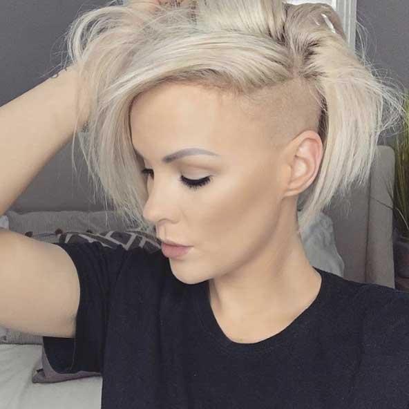 جدیدترین مدل مو کوتاه رنگ روشن زنانه