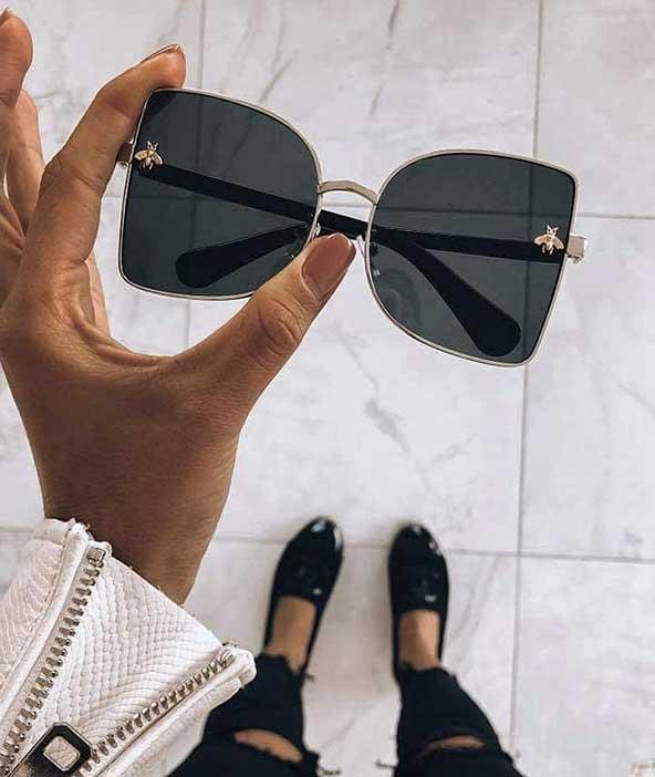 مدل عینک مجلسی آفتابی دخترانه با طرحی دوست داشتنی