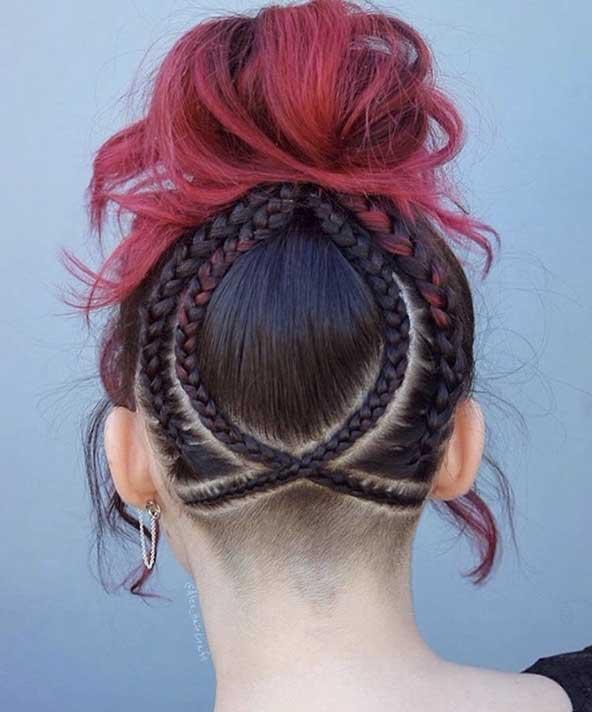 بافت مو کوتاه بسیار دوست داشتنی